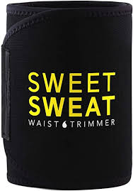 Sports Research <b>Sweet Sweat</b> Premium <b>Waist Trimmer</b> (Yellow