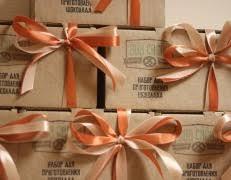 Подарочные <b>наборы для приготовления шоколада</b>