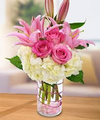 floral arrangements roses tulips hydrangea orchids happiness