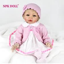 <b>NPKDOLL</b> New <b>22 Inch 55CM</b> Reborn Baby Doll Soft Body Silicone ...