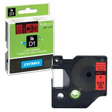 <b>Картридж</b> для принтеров этикеток <b>DYMO D1</b>, 9 мм х 7 м – купить ...