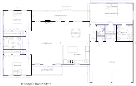 House blueprints  Home blueprints and House on PinterestLearn more at smartdraw com
