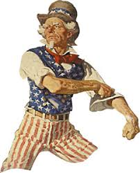 Image result for MEAN UNCLE SAM CLIPART