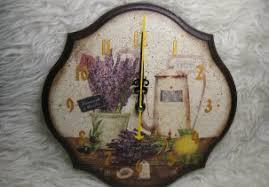 """Настенные <b>часы</b> """"Лаванда и лимон"""" / <b>Clock</b> """"Lavender and lemon ..."""