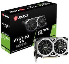 <b>Видеокарта MSI GeForce</b> GTX 1650 1740MHz PCI-E 3.0 4096MB ...
