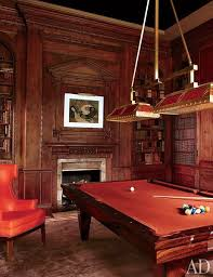 a revitalized 1930s mansion in old westbury new york architectural digest a pool billiard room lighting