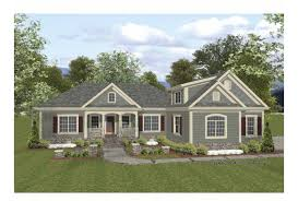 Eplans Cottage House Plan   Versatile Open Layout   Square    Front