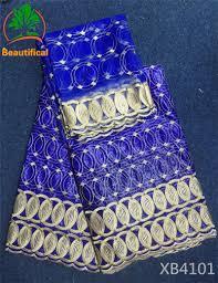 <b>LIULANZHI</b> tissu bazin riche patchwork <b>fabric</b> blue style bazin ...