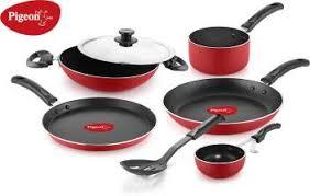 Pigeon <b>Non</b>- <b>stick</b> cookware- Favourite <b>7Pcs</b> Gift <b>set</b> Cookware <b>Set</b> ...