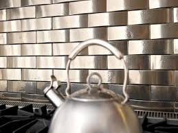 subway tiles kitchen splashback life metallics stainless steel virtually every color plays well with this m