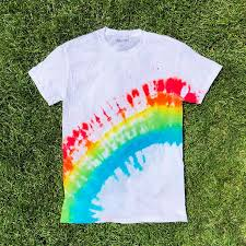 How to <b>Tie Dye Rainbow</b> Arch Pattern