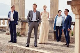 amc drama the night manager isn t about your night shift security the cast of the night manager photo © 2015 the night manager limited