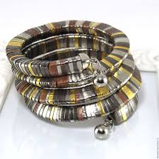 """Купить """"Фараон"""" Многорядный <b>браслет</b>. Гематит, металлический ..."""