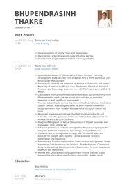summer internship resume samples   visualcv resume samples databasesummer internship resume samples