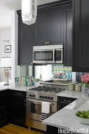 set cabinet full mini summer: in summer thorntons chicago kitchen she set a sophisticated tone with black and white