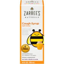 Zarbees Naturals <b>Cough Syrup</b>, <b>Children's</b>, Natural Grape Flavor, 4 ...