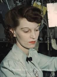 electronics technician 1940s makeup look 1944 loc