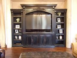 entertainment center family room built