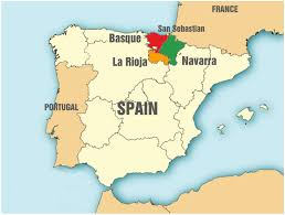 Image result for Free map of Basque territory in Europe