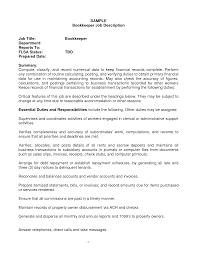 sample job resume  full charge bookkeeper resume sample  job    sample job resume