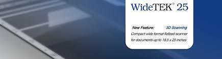 <b>WideTEK</b> 25, <b>WideTEK 25-650</b> Wide Format Scanners
