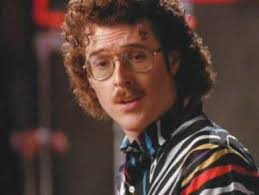 Weird Al Yankovic moustache Let's Not Get Carried Away