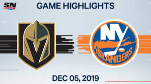 NHL Highlights | Golden Knights vs Islanders – Dec. 5, 2019 ...