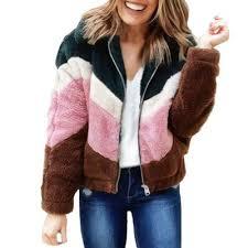 Women <b>Stylish</b> Winter Warm Fur Loose Cardigan <b>Hoodies Long</b> ...