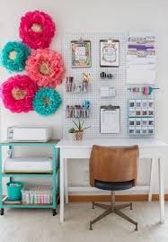 office and craft room storage michaels makers january challenge diy organization with 50 ideas charming office craft home wall storage