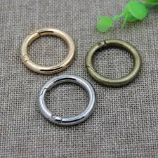 6/<b>8pcs</b> S-Shape Aluminum Camping Carabiner <b>Key</b> Chain Ring Clip ...