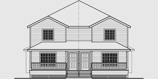House Plans Canada  Canadian Designed Homes and Floor PlansD  Duplex house plans  narrow lot duplex house plans  bedroom duplex