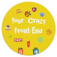 Коврик для мышки (круглый) <b>Your Crazy</b> Front-End #1625739 от ...
