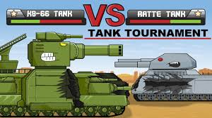 """<b>Tank Tournament</b> - Ratte vs KV66"" Cartoons about <b>tanks</b> - YouTube"