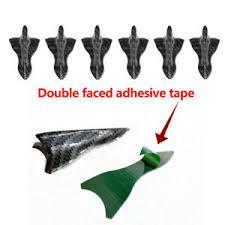 Car Carbon Fiber Shark Fin Diffuser Vortex Generator <b>Roof Spoiler</b> ...