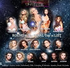 miss universe round the final top list dpageantbuff << miss universe 2012 round 8 the final top 16 list