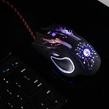 <b>USB Wired</b> Gaming <b>Mouse</b> 3200DPI 6 Buttons LED <b>Optical</b> ...