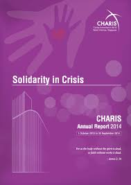 annual report charis ar2014 front cover