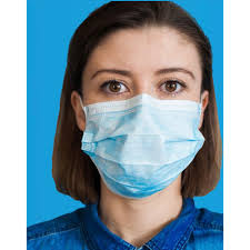 <b>Non</b>-<b>Medical</b>, 3-Ply Disposable <b>Face Masks</b>, 50/Box