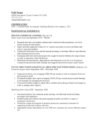 certified public accountant cpa resume template sample certified public accountant cpa resume template sample ms word