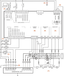 generator changeover panels genset controller automatic changeover switch for generator circuit diagram