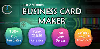 Business Card Maker Free Visiting Card Maker photo - Apps on ...