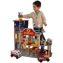 Игровой набор <b>Kidkraft</b> Делюкс «<b>Пожарно</b>-<b>спасательная станция</b> ...