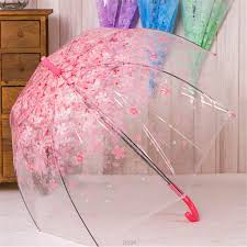 Online Shop New Fashion Transparent Clear <b>Umbrella Cherry</b> ...