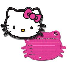 hello kitty stars invitation cards hello kitty party party ark hello kitty stars invitation cards