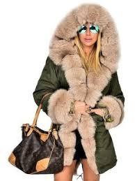 Alessandra <b>Chamonix</b> racoon fur lined <b>parka coat</b> | куртки зимние ...
