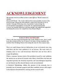 How to write an acknowledgement section of a dissertation