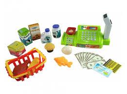 <b>ABtoys</b> Помогаю Маме Касса эл/мех в наборе с продуктами в ...