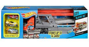 Автовоз Хот Вилс <b>Hot Wheels</b> CDJ19 с <b>пусковой</b> установкой на 14 ...