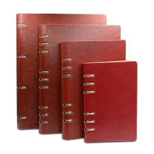 2019 Business Office A4 <b>B5 A5 A6</b> A7 PU <b>Leather</b> Bound <b>Notebook</b> ...