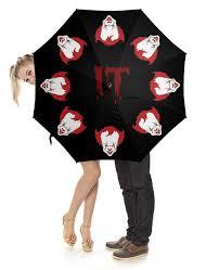 """Зонт-трость с деревянной ручкой """"""""IT"""" Танцующий <b>клоун</b> ..."""